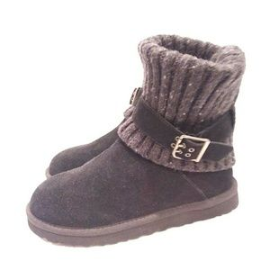 Ugg Australia black cambridge boots 8